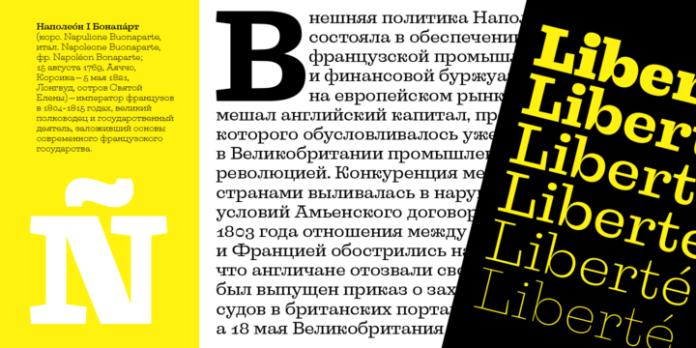 Liberteen Font Family