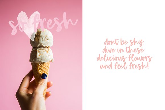 NEW! Bold brush font, Girl Crush
