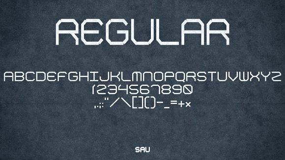SAU Display Font