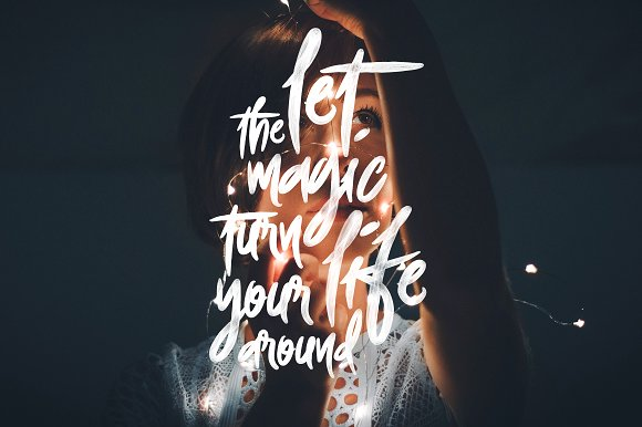 Foxing Font + PS Action