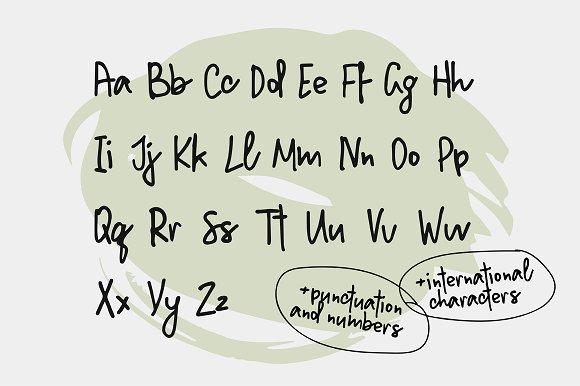 Million Notes | Handwritten Script