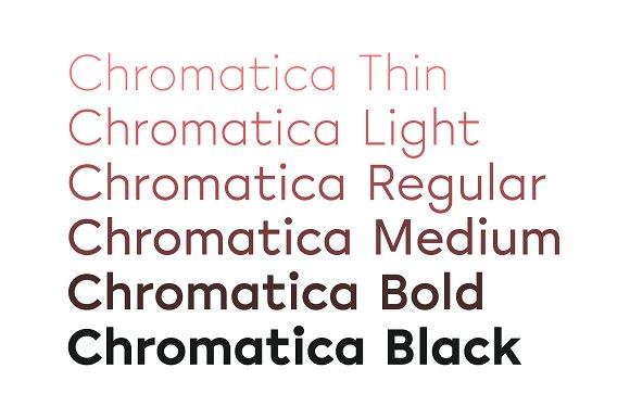 Chromatica Sans Serif Font