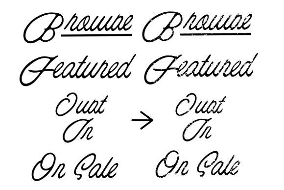 Minimal Store - Font System