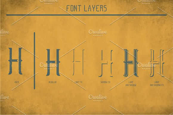 Salt Lake Vintage Label Typeface