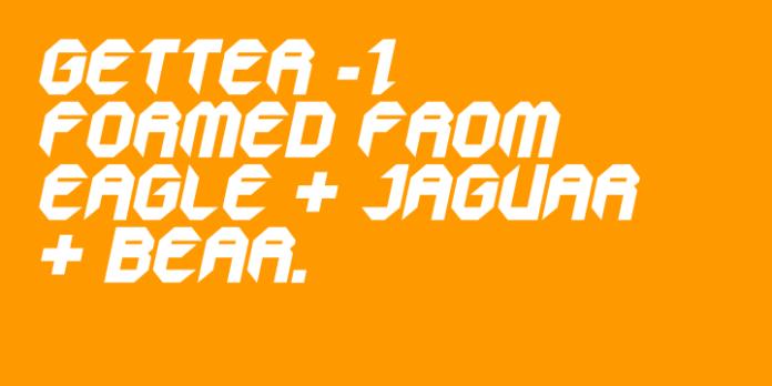GetaRobo Font Family 10xOTF