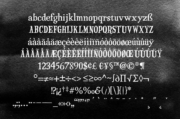 Haunted Serif