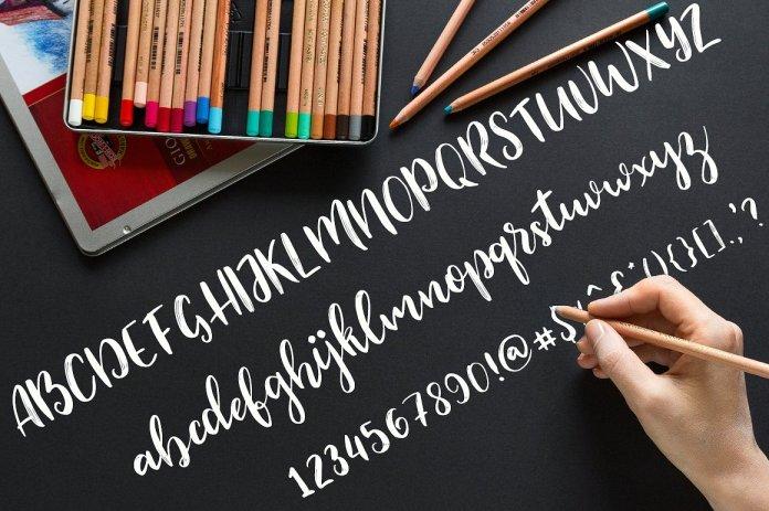 Modesty Fonts  Script