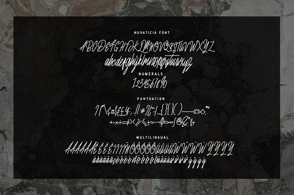 Nuvaticia Script Font