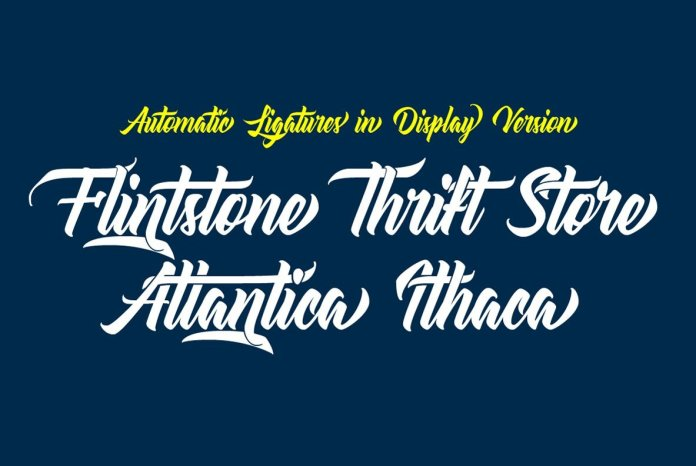 Atlantica Font Family