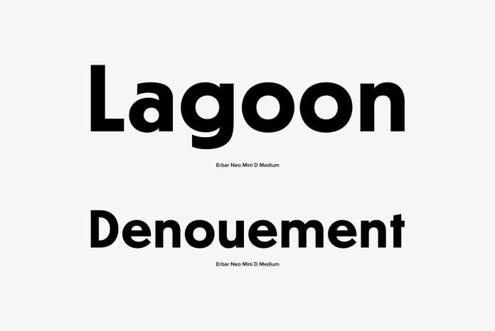 Erbar Neo Mini Font