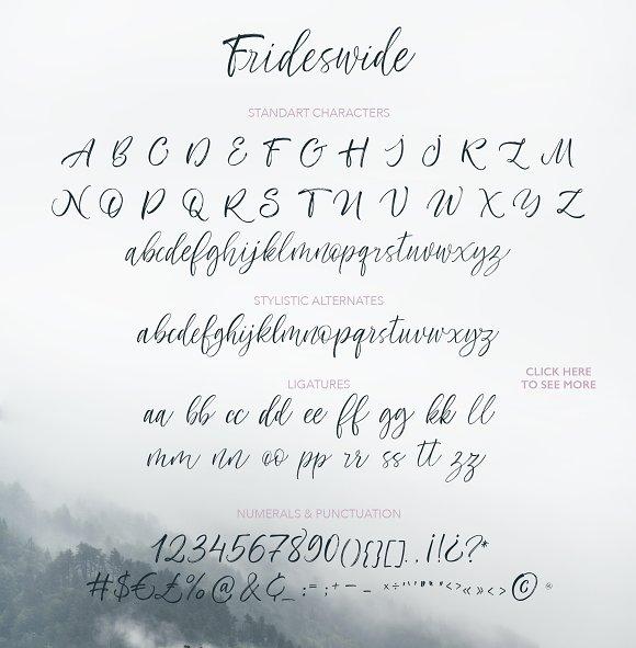 Frideswide Script Font
