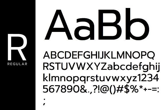 METZLER Minimal Typeface