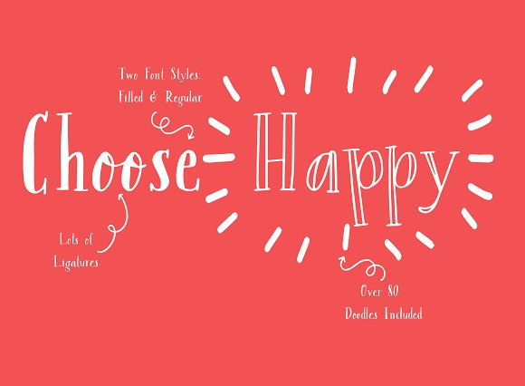 NEW! Margalo Font + Extras