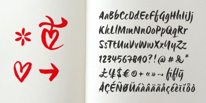 Origo - Handwritten Brush Legible Script Font