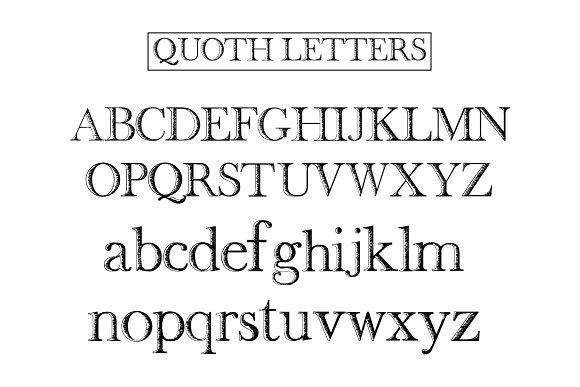 Quoth Font