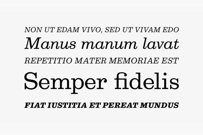 Egizio Font Family