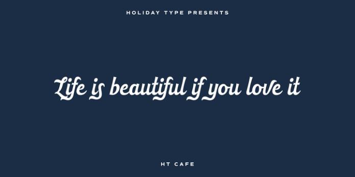 HT Cafe Font