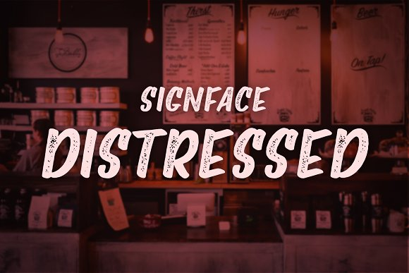 Signface Font