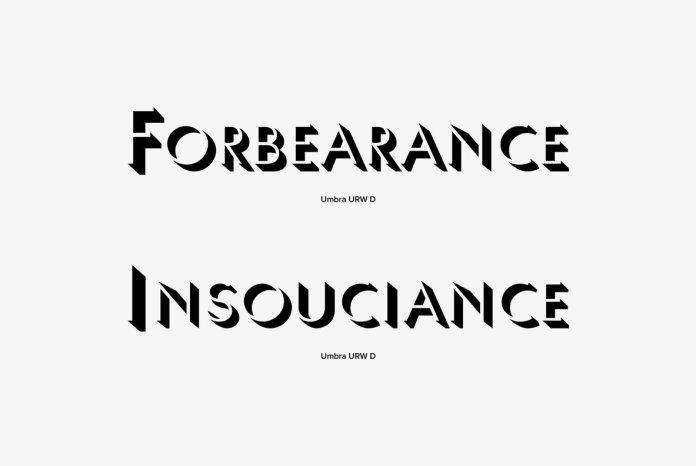 Umbra Font