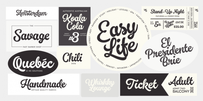 Kingfisher Font Family - 8 Fonts