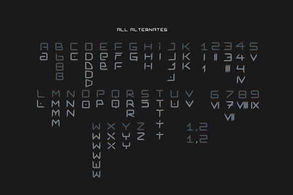 Simmetron Hi-Tech Futuristic Font