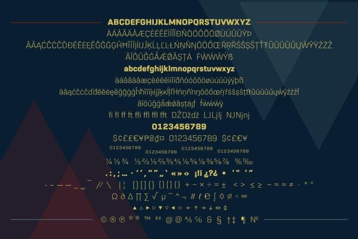 URW Dock Font Family