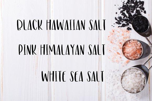 Salty Sans Typeface