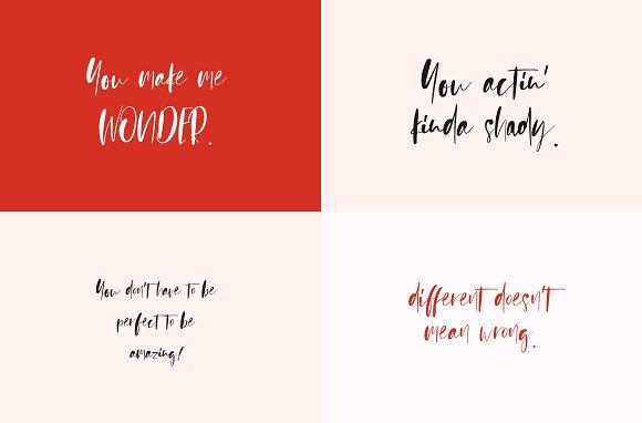 Sienna Signature Font + Extras