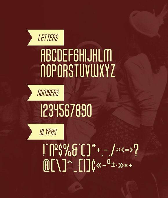 Soda Fountain Typeface