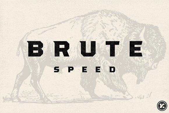 Brute Font