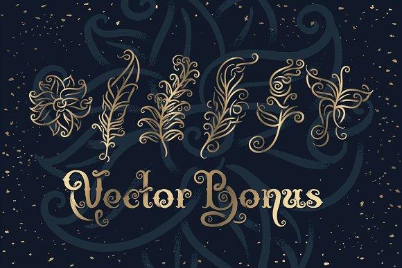 Magic Garden Font & Graphics