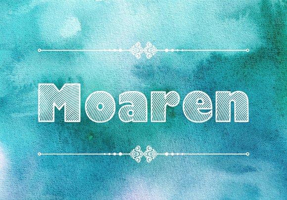 Moaren Font