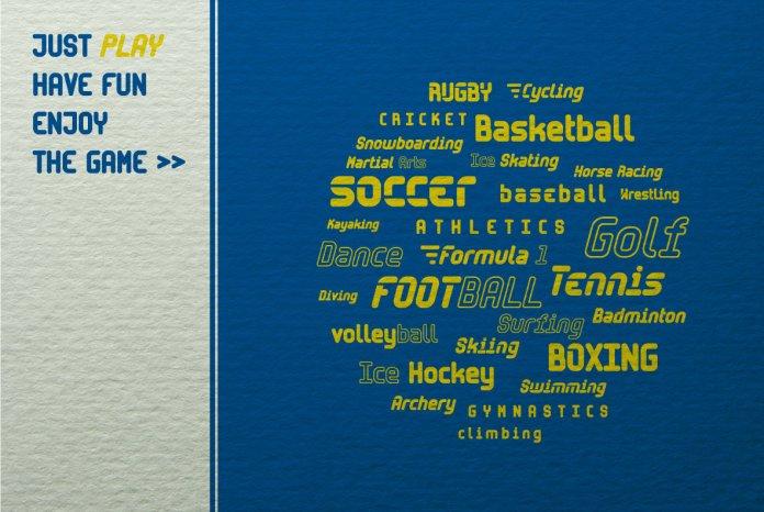 Sporta Font Family