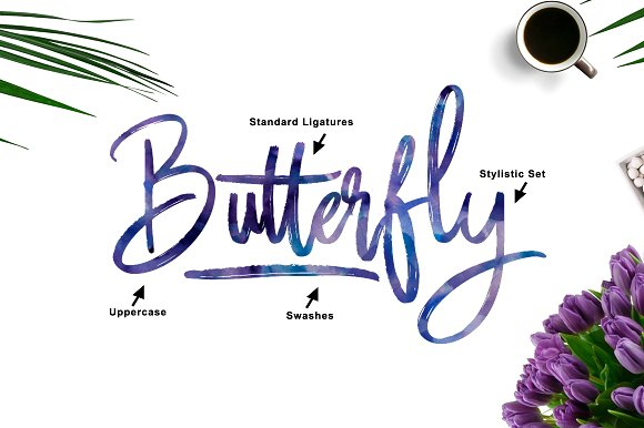 Butter Luchy - Handwritting Brush