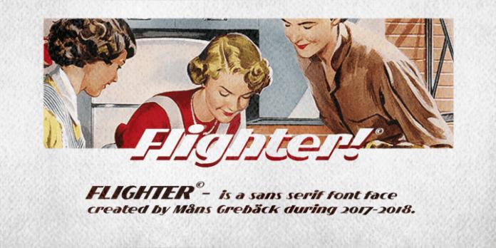 Flighter Font