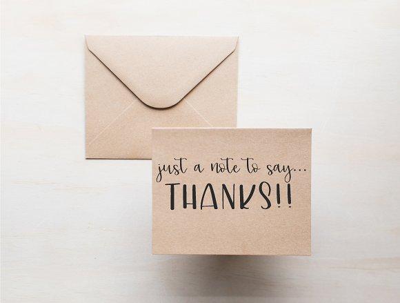 lillie belle hand lettered font