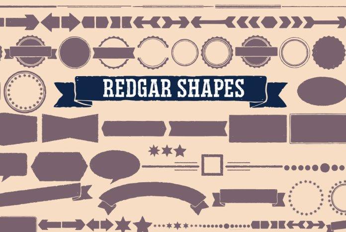 Redgar Font Family