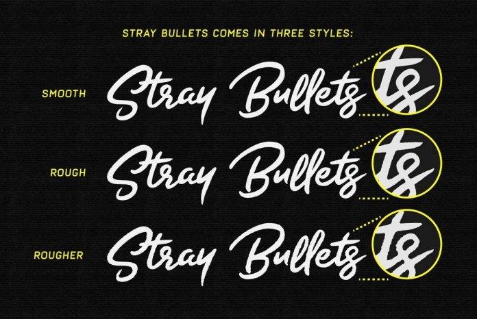 Stray Bullets Font Family