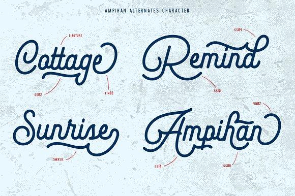Ampihan Font