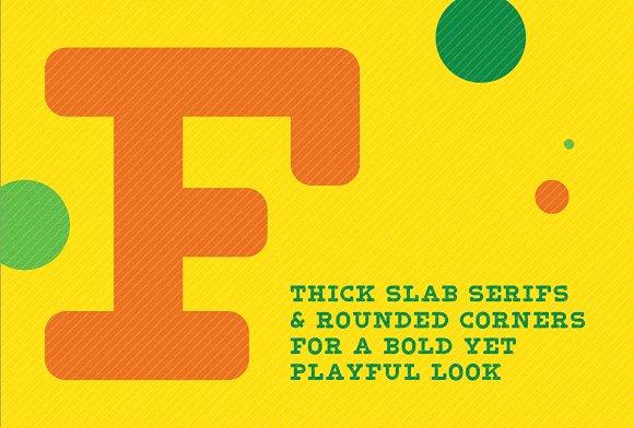 Blocky Slab - Font