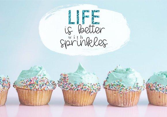 Vanilla Cupcake - Script Font