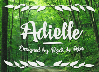 Adielle Font Family