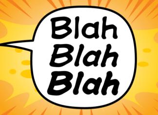 Blah Blah Blah Font Family