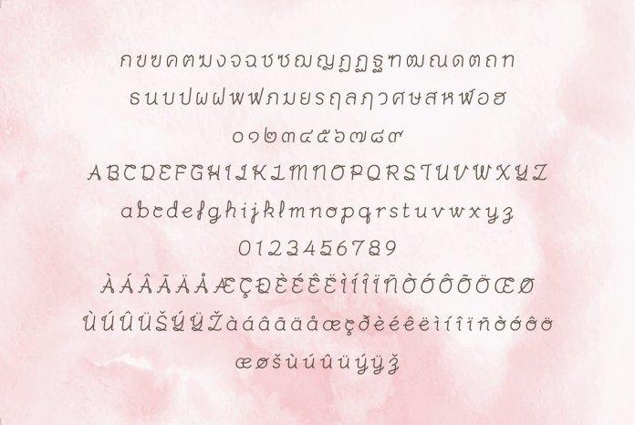Merrily Font Family