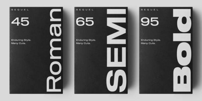 Sequel 100 Black Font Family