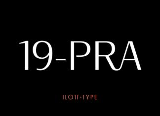 19-PRA Font Family