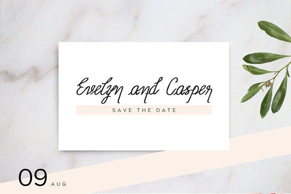 Amelia - Beautiful Handwriting Font