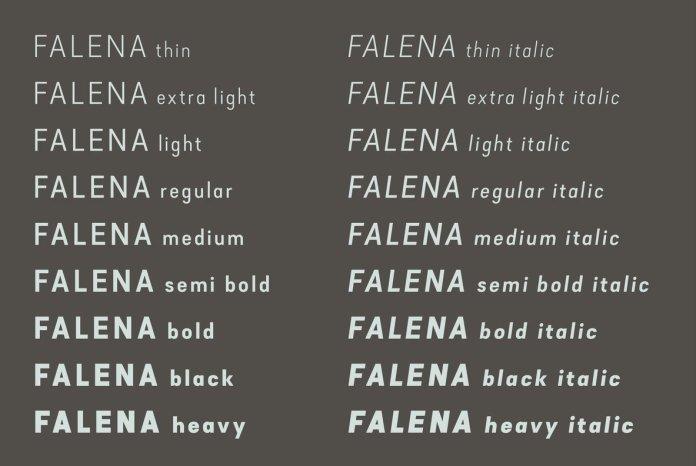 Falena Font Family