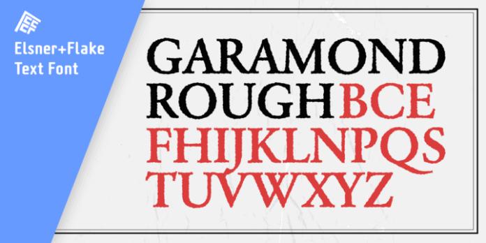 Garamond Rough Pro Family