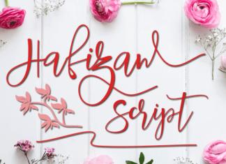 Hafizan Script Font